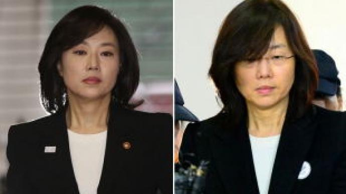비포 & 애프터…구속 후 초췌해진 조윤선