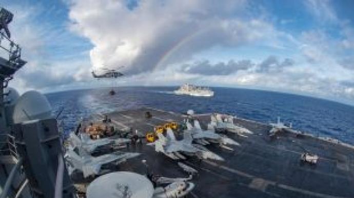 한반도 전쟁위기 고조?…美 '4개 핵항모...