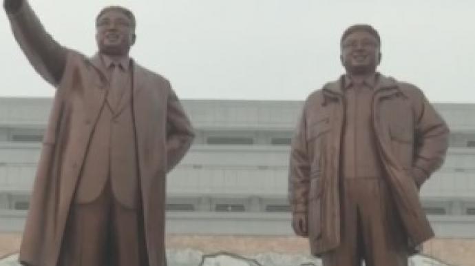 """김정은, 김정일 동상도 치워…""""모실 자격..."""