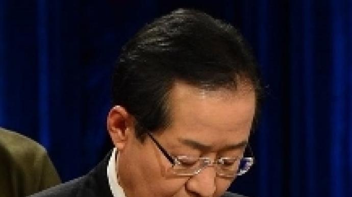 """""""참여정부가 성완종 사면""""…홍준표 발언..."""
