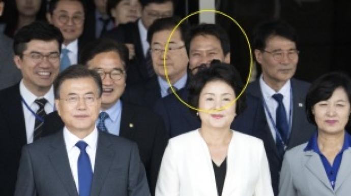 """임종석, 문재인 대통령 방미에 활짝…""""이..."""
