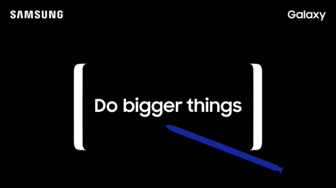 Samsung sends out invites for Galaxy Note 8 Unpacked