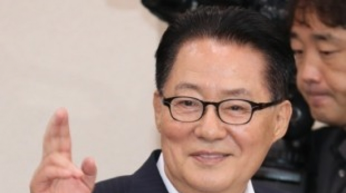 """박지원, 文 기자회견 극찬…""""박근혜와 너..."""