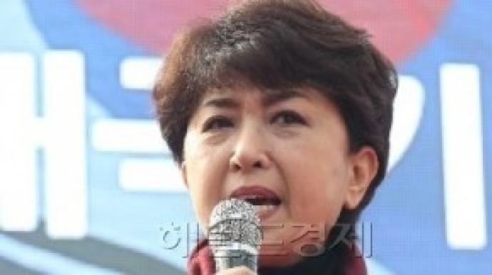 정미홍, 성희롱·명예훼손 혐의로 고발 당...
