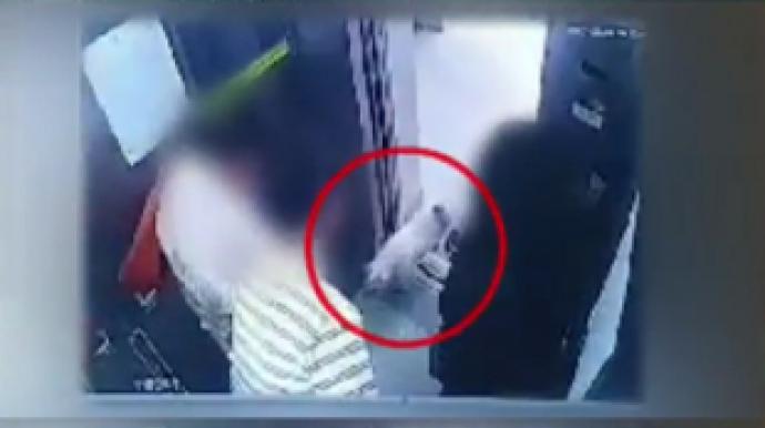 문 열리자마자…CCTV 속 최시원 개, '패...