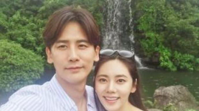 """우효광, 임신한 아내 추자현에 """"고마워,..."""