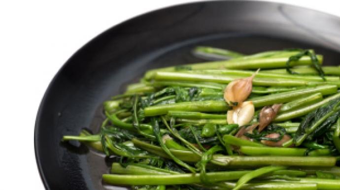 [리얼푸드]베트남 식당서 먹은 공심채, 피...