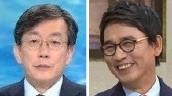 """손석희 """"유시민 전업인 나보다 방송 더 ..."""