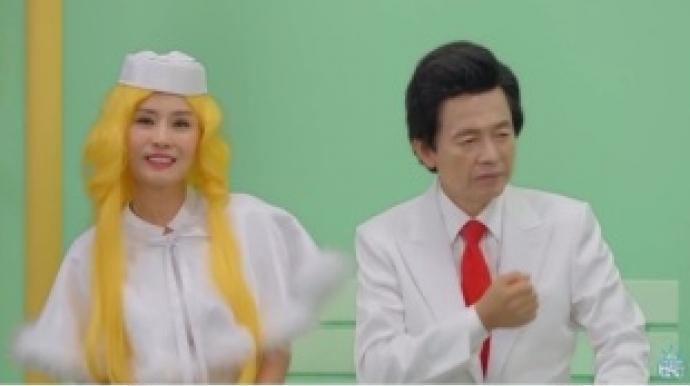 """허경영 """"열애설은 최사랑 측 노이즈마케..."""