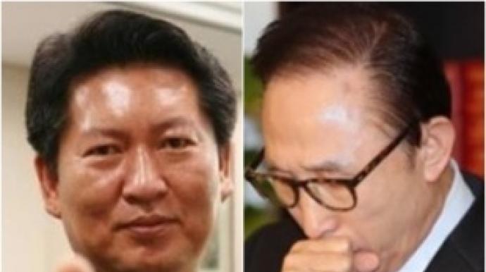 """정청래 """"MB 증거인멸중…MB 목젖까지 왔..."""