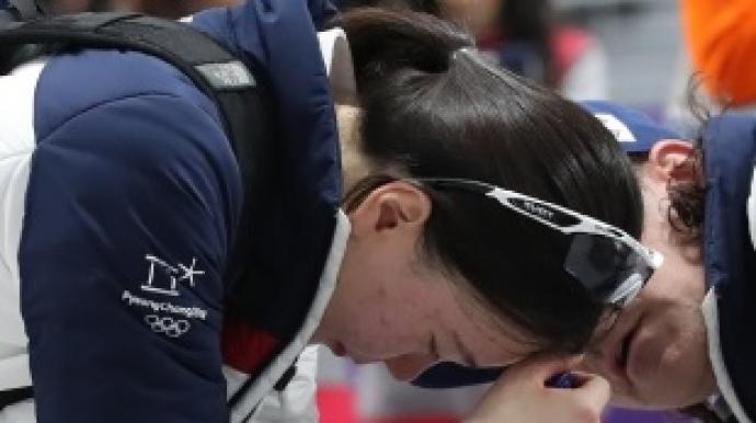 팀원 버린 김보름-박지우, 경기도 매너도...