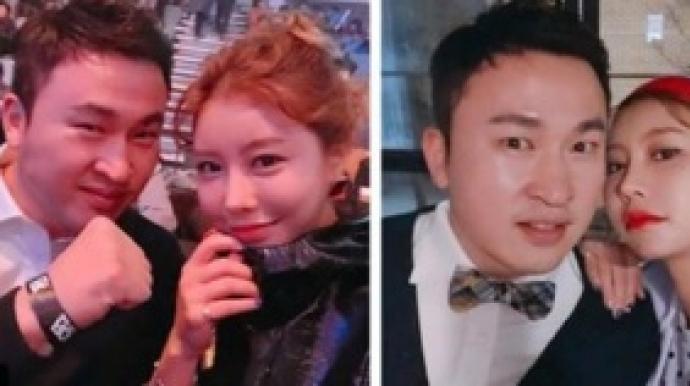 한정원, 김승현과 달달한 '럽스타그램'...