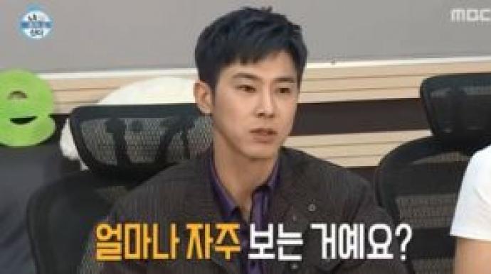 """유노윤호 """"손호준, 일주일에 6번 만나기..."""