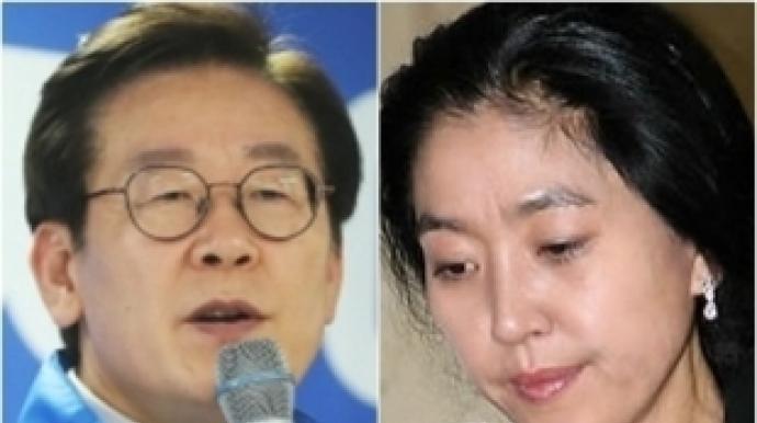 """이재명 """"김부선 거짓말 끝이 없어, 감당..."""