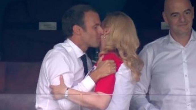 크로아티아 대통령, 프랑스 우승 확정 후...