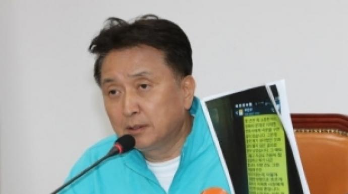 """김영환, 이재명 조폭 연루 의혹에 """"자신..."""