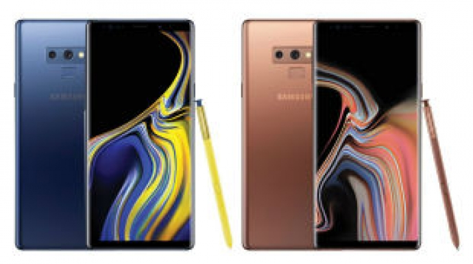 Samsung's Note 9 wins A+ grade for display
