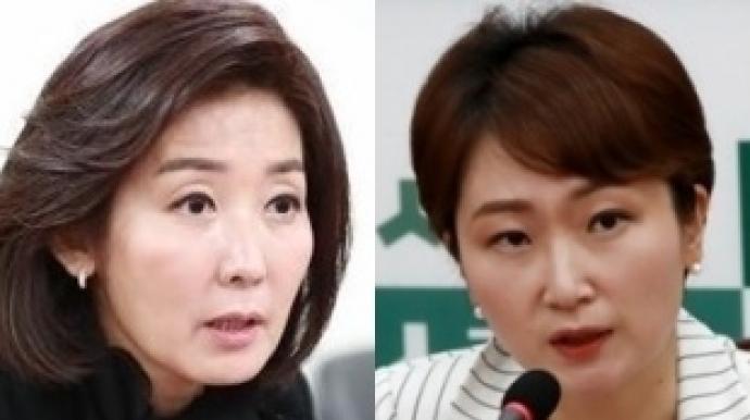 """정청래, 나경원-이언주 동시 저격…""""나언..."""