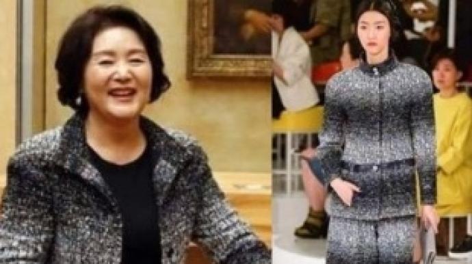 """강용석, 김정숙 여사 샤넬 재킷 디스 """"같..."""