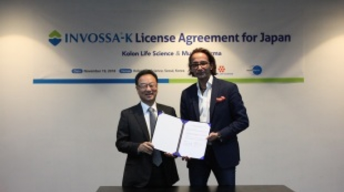 Kolon Life Science inks license deal with Mundipharma for Invossa