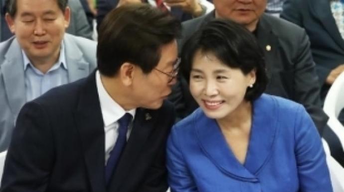 """김혜경 """"이재명과 침대 누워서도 함께 S..."""