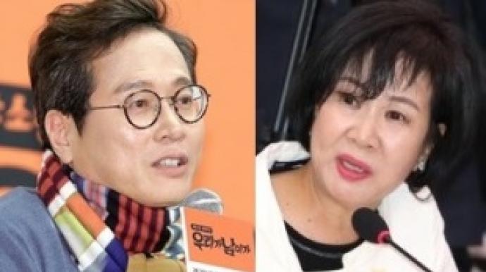 """황교익 """"손혜원, 뇌 패턴 건강""""…손혜원..."""