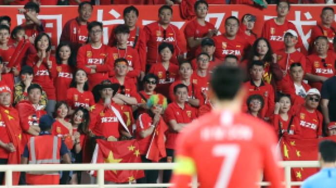 """중국팬들 """"2-0 완패는 손흥민 부상 못시..."""