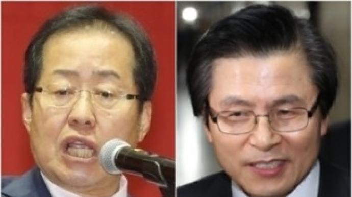 """홍준표, 황교안 겨냥…""""두드러기 병역면..."""