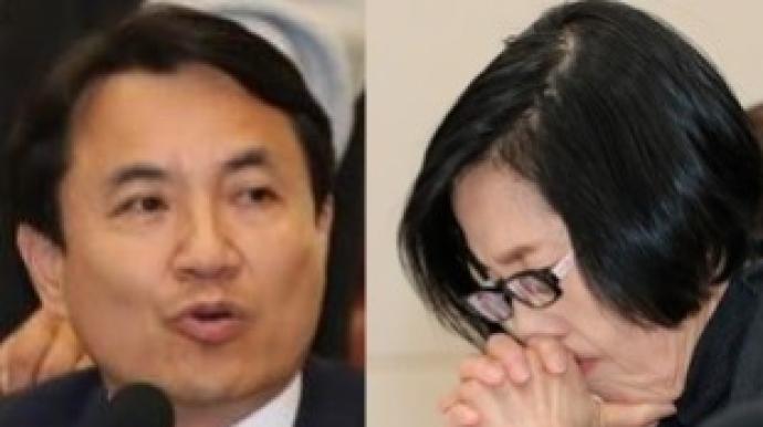 """김진태 """"손혜원 부친 월북후 남파…간첩..."""