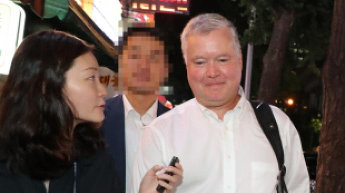 """美정부 소식통 """"지소미아 종료, 불만족…..."""