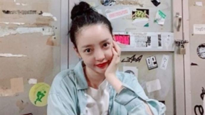 """구하라 안검하수 수술 후 근황…""""미드나..."""
