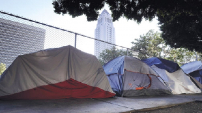 예일대·월가 금융인도 LA '텐트 노숙자...