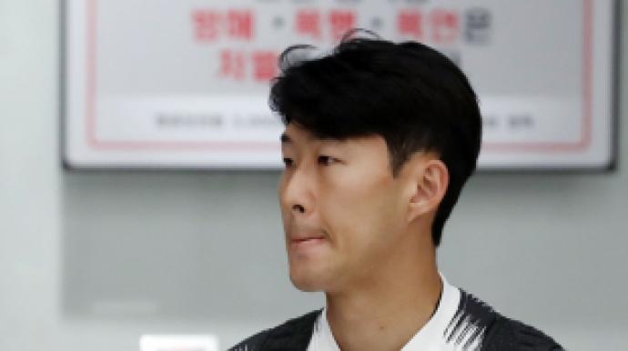 '첫 평양원정' 손흥민,  北선수와 유니...