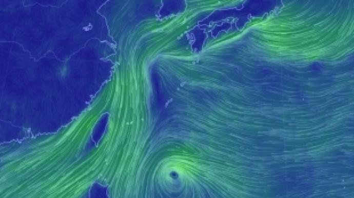 제20호 태풍 '너구리' 발생…태풍 이동...