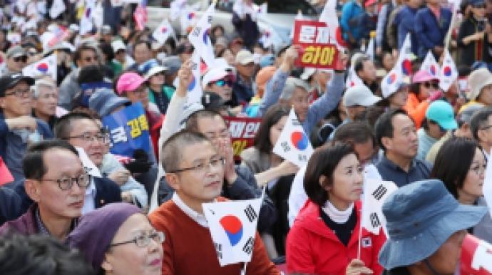 """""""의원 1인당 400명""""...한국당 '동원집..."""