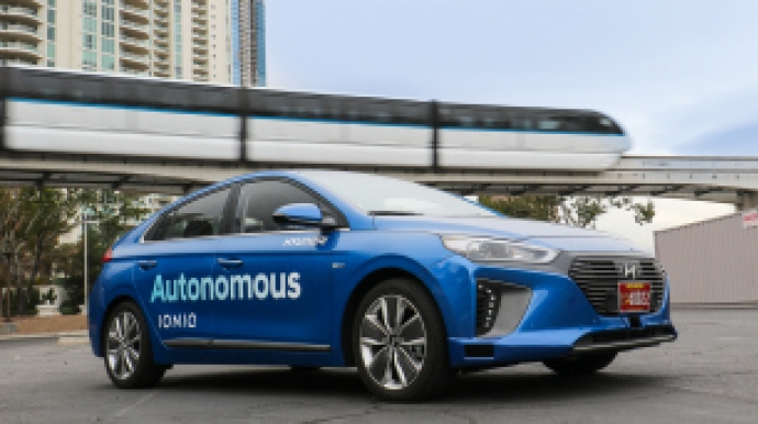 Hyundai develops AI-based self-driving tech