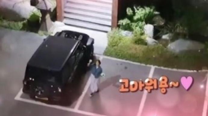"""장정윤 작가 공개…김승현 """"만나주셔서 ..."""