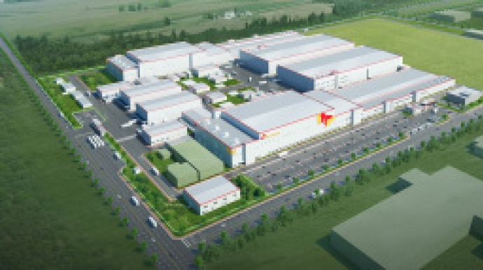 SK Innovation completes EV battery cell plant in China