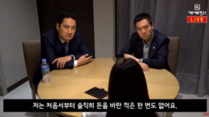 """강용석 """"김건모 피해자 또 있다, 10일 공..."""