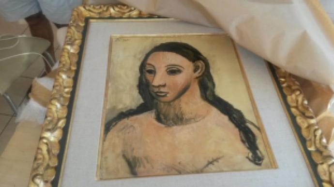 340억짜리 피카소 그림 해외에 팔려다 68...