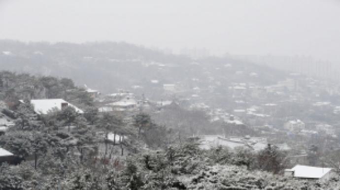 서울 함박눈…경기·강원 일부 지역 오늘...