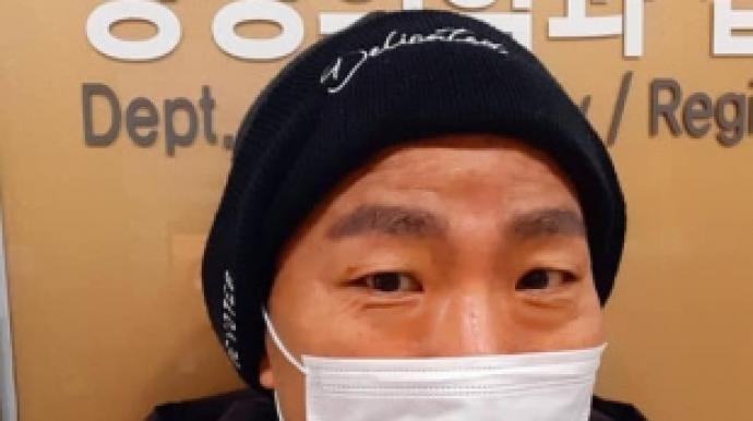 """'폐암 말기' 김철민 """"뇌MRI 정상""""…개..."""
