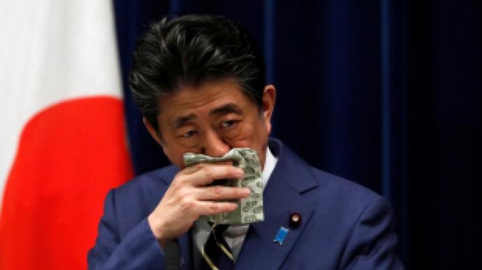 일본, 모든 가구에 천마스크 2장 지급…일...