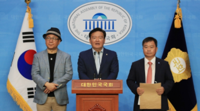 """민경욱에 투표지 준 참관인 """"용지 색깔 달..."""