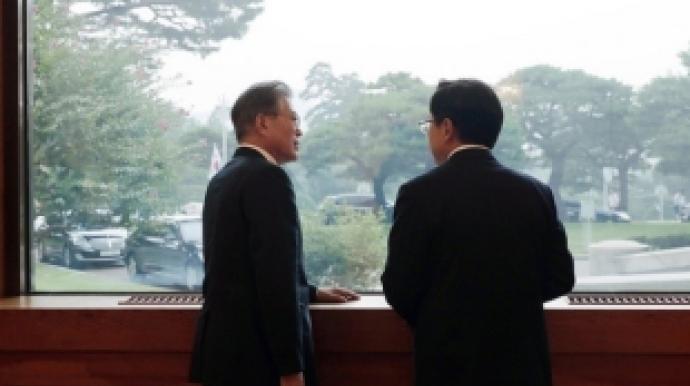 """민경욱 """"황교안은 의리남…文 만났을 때..."""