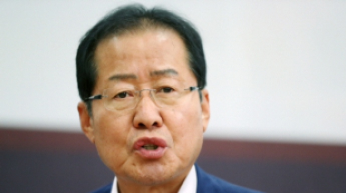 """홍준표 """"뿌리 없는 정치기술 국민 못 속..."""