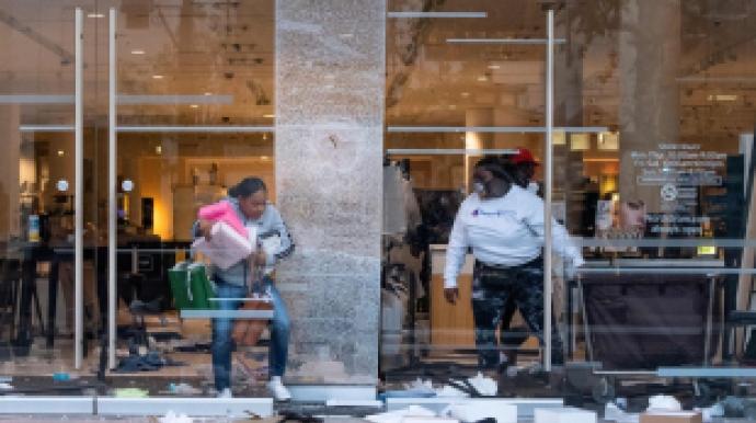 美흑인사망 항의시위 격화…명품매장 약탈...