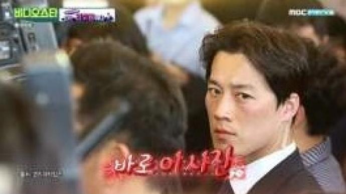 """文후보시절 미남 경호원 근황 …""""경호원..."""
