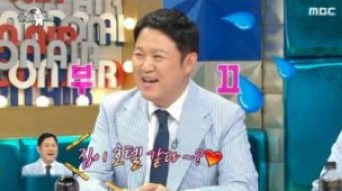 """김구라, 여친과 함께 산다…""""아침에 7첩..."""