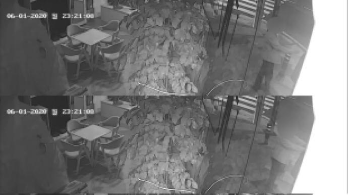 여성 성추행 체포된 부장검사 …CCTV장면...
